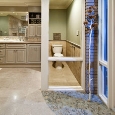 Transitional Bathroom by Design InSite
