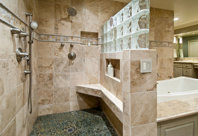 Traditional Bathroom by Design InSite