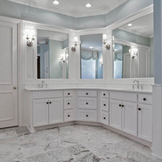 Traditional Bathroom by DFW Improved
