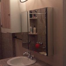 Contemporary Bathroom by E.J.Fikar Contracting LLC