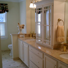 Traditional Bathroom by Faith Home Remodeling Services