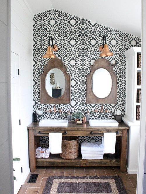 Landhausstil Badezimmer - Design-Ideen & Beispiele für die ...