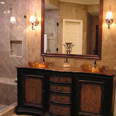 Traditional Bathroom by Fletcher Design Consultants