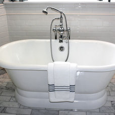 Traditional Bathroom by Gander Plumbing