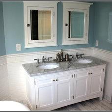 Traditional Bathroom by Gander Plumbing
