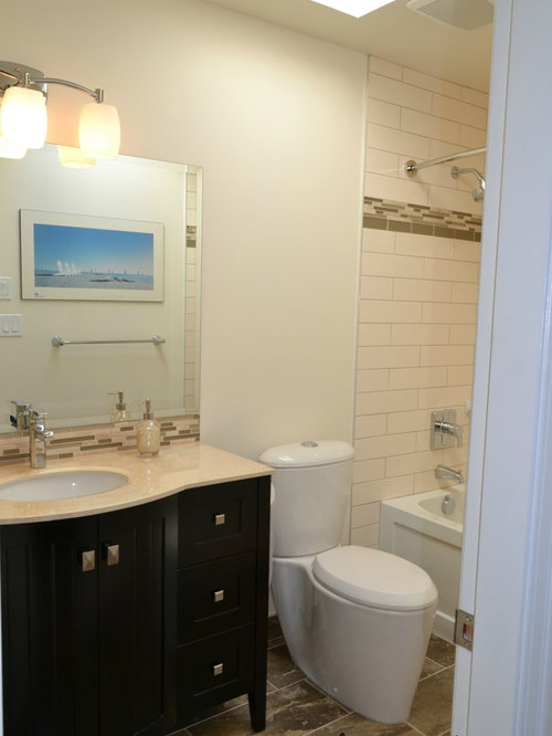 Bathroom Remodel From Almond To Awesome