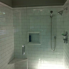 Traditional Bathroom by Greentimber Construction