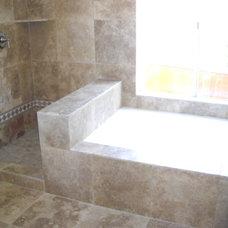 Mediterranean Bathroom by Guedes Construction Inc