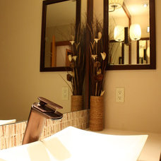 Asian Bathroom by DeCesare Design