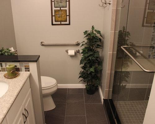 Modern Bathroom Design Ideas Renovations Photos With Raised Panel Cabinets
