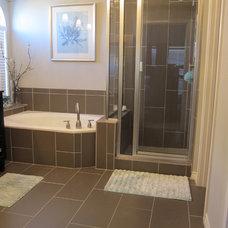 Contemporary Bathroom by The Floor Barn