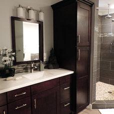 Contemporary Bathroom by BMV Construction