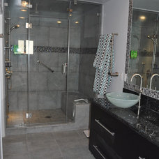 Contemporary Bathroom by Pearl Remodeling