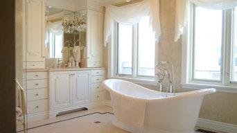 Bathroom Remodel in Venetian Plaster