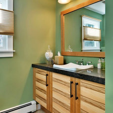 Eclectic Bathroom by Tom Curren Companies