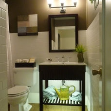 Eclectic Bathroom by Jan McQueen