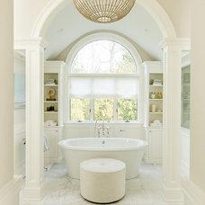Traditional Bathroom by BELLA INTERIORS - Jill Kalman