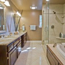 Traditional Bathroom by John Hanks Construction
