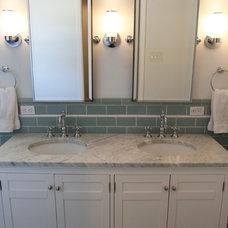 Traditional Bathroom by John Milander Architects