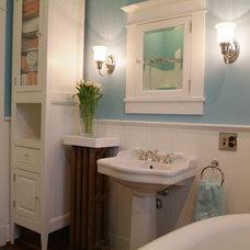 Traditional Bathroom by Kat Freeman Designs
