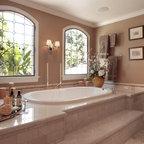 handpainted master bathroom cabinets - Traditional ...