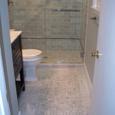 Modern Bathroom by Kolby Construction Company