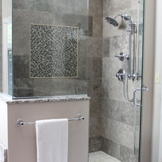 Transitional Bathroom by Cabinet-S-Top