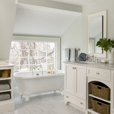 Beach Style Bathroom by Molly Frey Design