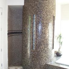 Traditional Bathroom by Pamela Silkey Interior Design