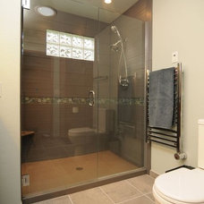 Contemporary Bathroom by Renewal Remodels and Additions
