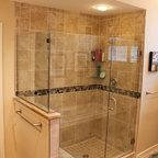 Elegant Small Bathroom In Mclean