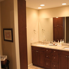 Traditional Bathroom by Top Builders LLC
