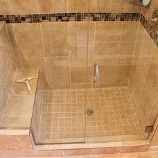 Traditional Bathroom by Top Builders LLC