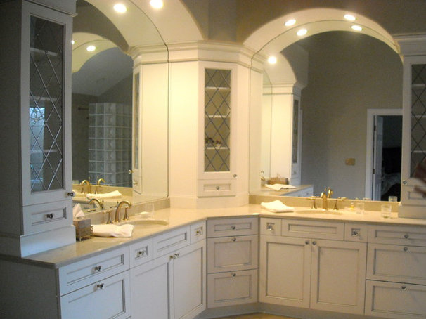 Traditional Bathroom by Shannon Poe