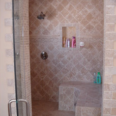 Traditional Bathroom by Los Angeles Remodeling and Construction