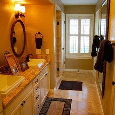 Traditional Bathroom by Studio L Interior Design