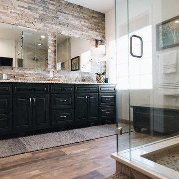 Bathroom Remodel that Rocks!