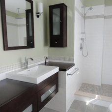 Contemporary Bathroom by Frank Webb's Bath Center