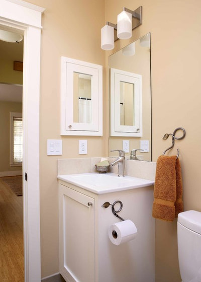 Traditional Bathroom by Bill Fry Construction   Wm  H  Fry Const  Co. The Absolute Right Way to Hang Toilet Paper  Maybe