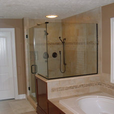 Traditional Bathroom by AVID Construction