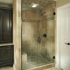 Traditional Bathroom by von Gillern Construction
