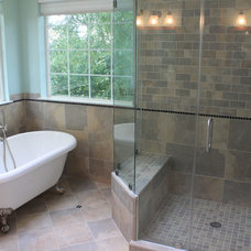 Traditional Bathroom by Blue Moon Construction