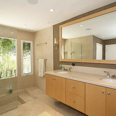 Modern Bathroom by Poway Bath Remodel