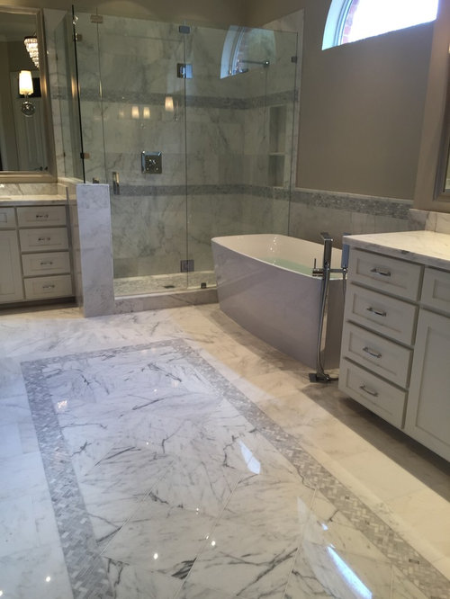 First Snow Marble Home Design Ideas, Pictures, Remodel and Decor