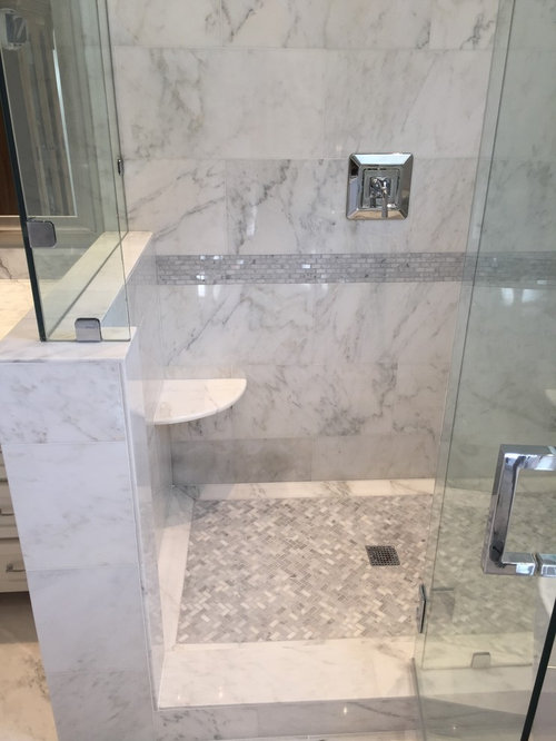 Best Herringbone Marble Mosaics Design Ideas Amp Remodel Pictures Houzz