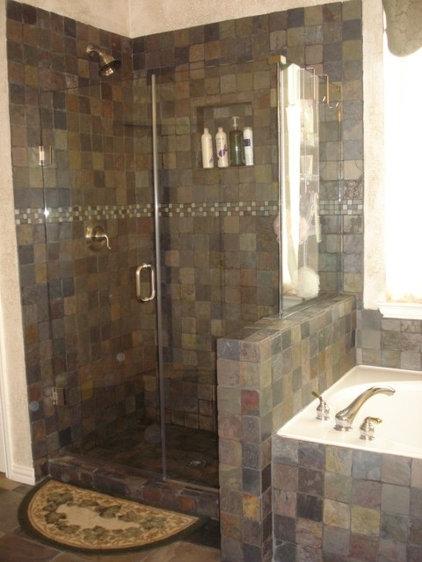 Mediterranean Bathroom by Remodeling by Joseph