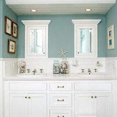 Beach Style Bathroom by Novel Remodeling