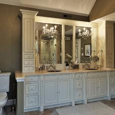 Traditional Bathroom by Diamond Kitchen & Bath