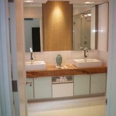 Contemporary Bathroom by HK Contractors LLC