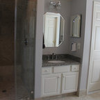 Master bath with vaulted ceiling remodel contemporary - Bathroom remodeling woodbridge va ...